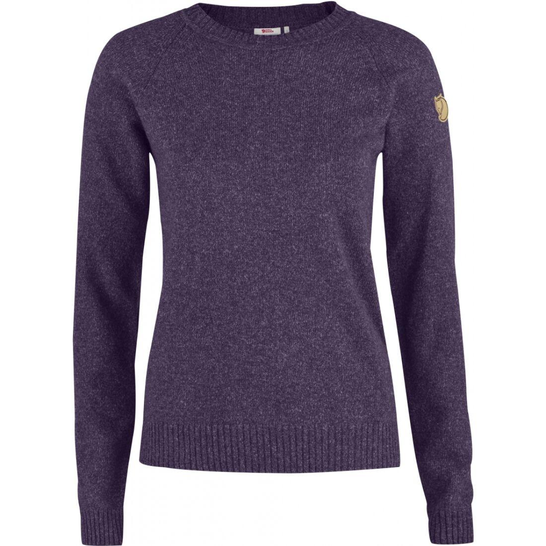 e8c0880308 Fjällräven Övik Re-Wool Sweater női pulóver - Fjallraven túrabolt és ...
