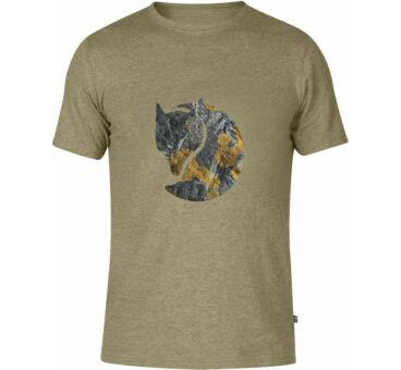 Fjällräven Rock Lichen Logo póló