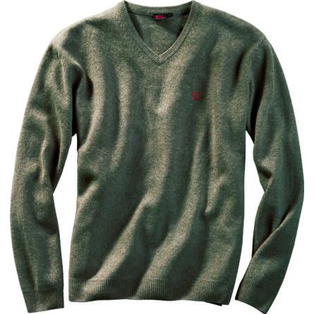 Fjällräven Shepparton gyapjú V-pulóver