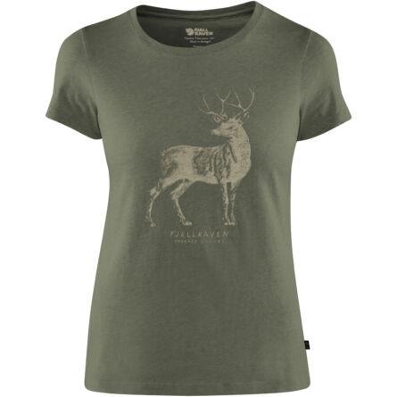 Fjällräven Deer Print női póló