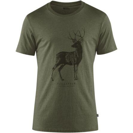 Fjällräven Deer Print férfi póló