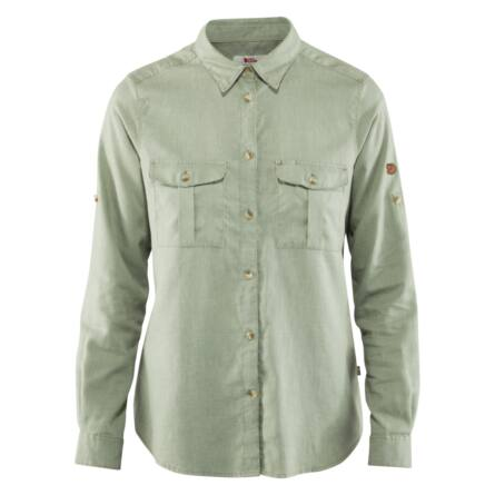 Fjällräven Övik Travel Shirt hosszú ujjú blúz