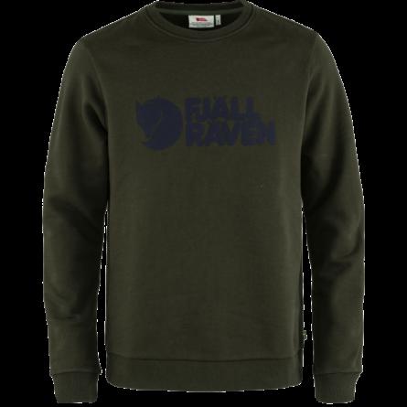 Fjällraven Logo férfi pulóver