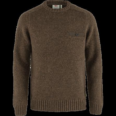 Fjällräven Lada Round-neck kötött férfi pulóver