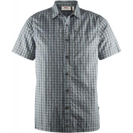 Fjällräven Svante Seersucker Shirt, rövid ujjú ing